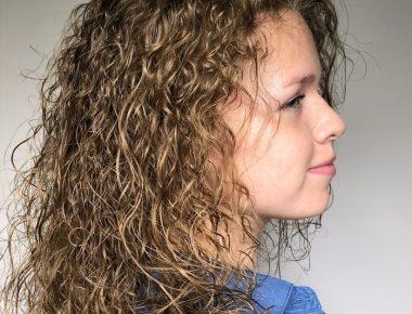 Химическая завивка волос в салоне Маяк