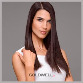 Перманентное выпрямление волос STRUCTURE+SHINE Goldwell до 40 см