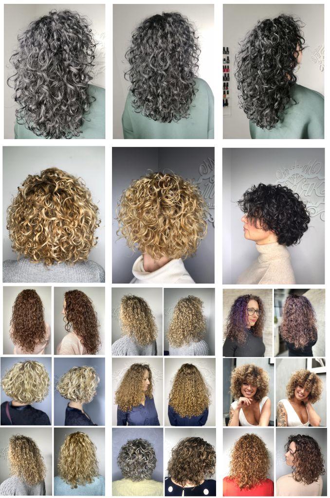 Химическая завивка волос салон Маяк