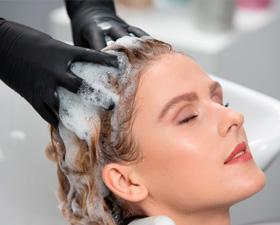 Мытье головы и сушка