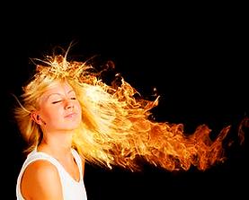 Обжиг волос огнем косметика La Biosthetique